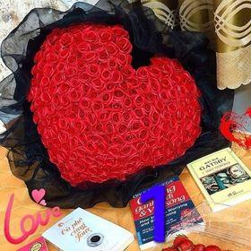 Bó tim 99 bông hồng sáp giá sỉ