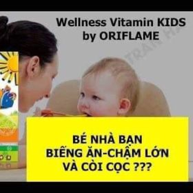 Wellness Kids kẹo biếng ăn cho trẻ giá sỉ