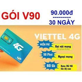 Sim Viettel V90 Miễn phí tháng đầu giá sỉ
