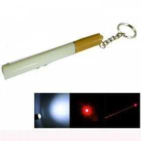 Móc khóa điếu thuốc 3in1 Lazer Soi Sáng Viết xịn giá sỉ