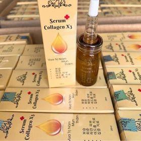 Serum collagen x3 Cty giá sỉ