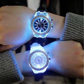 Đồng hồ LED nam nữ phát sáng cực đẹp giá sỉ