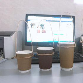 Quai treo Trà Sữa Cafe bằng MÂY giá sỉ