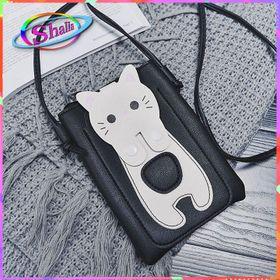 Túi điện thoại mini mèo trắng dễ thương thời trang giá sỉ