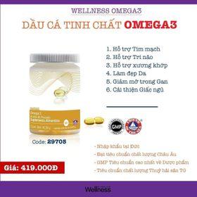 Dầu cá tinh chất Omega3 Wellness giá sỉ