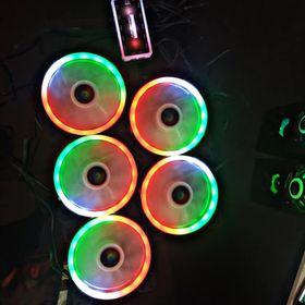 Kit 5 fan Rainbow GRB Led giá sỉ