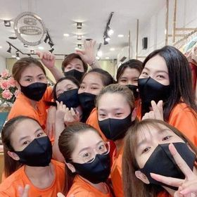 [rẻ vô địch] Khau Trang vải kiểu hàn quốc co giãn giá sỉ