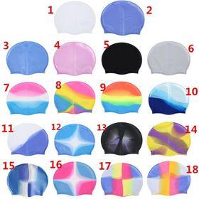 Mũ bơi cao su silicone nhiều màu sắc chất liệu bền đẹp giá sỉ