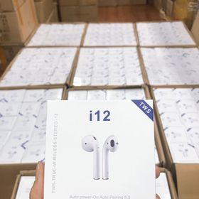 Tai Nghe Bluetooth Không Dây TW i12 Giá Buôn Sẵn Số Lượng Lớn. giá sỉ