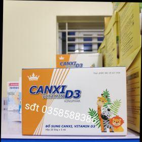 Canxi vitamin D3 Kingphar hộp 20 ống giá sỉ