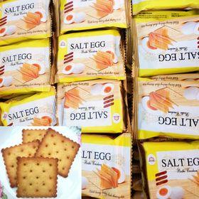 Bánh CRACKER Vị Trứng Muối - Cực Ngon 1 KG giá sỉ
