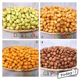 Bánh Hạt Trân Châu 4 Vị Cam,Tôm Mặn, Dưa Lưới, Cà Phê - Cực Ngon 1 KG ( Mix Theo Yêu Cầu ) giá sỉ