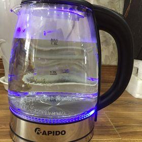 Ấm siêu tốc thuỷ tinh Rapido 1800ml RK1818 giá sỉ