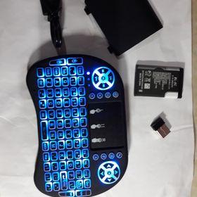 Bàn Phím kiêm chuột bay i8 có led 2.4ghz kết nối được các thiết bị giá sỉ