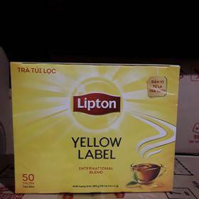 Trà Lipton nhãn vàng Số 1 Việt Nam/ Hộp 50 túi giá sỉ