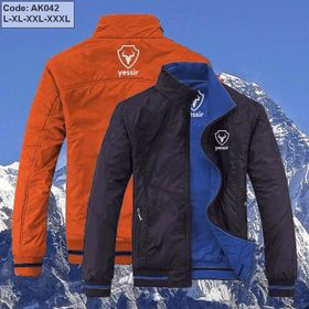Áo khoác Nam 02 lớp Yessir thêu Logo, mặc được 02 mặt - 02 kiểu. giá sỉ