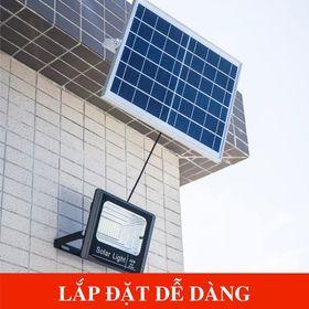 Đèn pha năng lượng mặt trời 60w giá sỉ