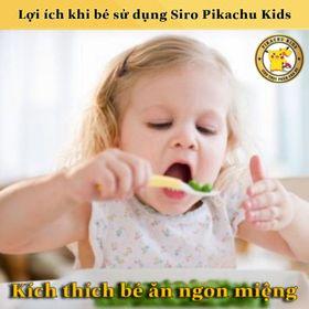SIRO TRỊ BIẾNG ĂN PIKACHU KIDS giá sỉ