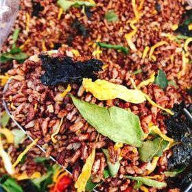 Gạo Lức Sấy Rong Biển Khô Gà Lá Chanh - Tốt Cho Sức Khỏe - 1 KG giá sỉ