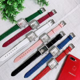 Đồng hồ dây da nữ cao cấp CHA.NEL (sale off) giá sỉ