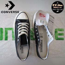 Giày CV sf 1970 cổ thấp cao cấp mũi bóng đầy đủ tem hộp. Giày CV, con, bata, canvas, vải. giá sỉ