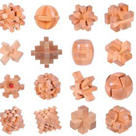 Đồ chơi bằng gỗ Khóa Luban - tiughidf894 giá sỉ