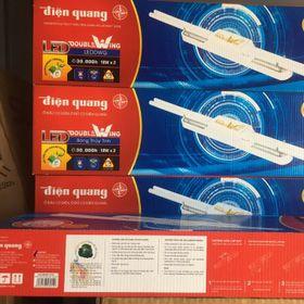 Bộ đèn Led Doublewing Điện Quang ĐQ LEDDW02 36765 ( 36w daylight, bóng thủy tinh )  Mã sản phẩm: 52022039 giá sỉ