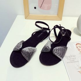 Giay sandal lưới hoa luo giá sỉ