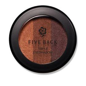 [Hàn Quốc] Phấn mắt phối 3 màu Five Back Triple Eyeshadow #02 Maple – Vàng lá phong (3g) giá sỉ