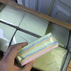 Combo hộp 100 cái khăn lau mắt kính chuyên dụng giá sỉ