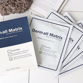 Mặt nạ ma thuật Derm all Matrix Facial Dermal - case Mask ( 1h 4 miếng ) giá sỉ