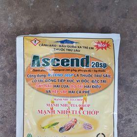 Thuốc trừ rầy, bọ trĩ, rệp sáp Ascend 20SP gói 100gr giá sỉ