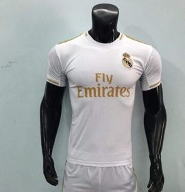 Áo đấu CLB Real Madrid trắng hàng MK giá sỉ