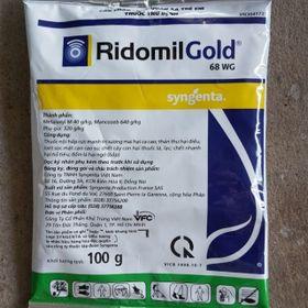 RidomilGold Thuốc trừ bệnh cây trồng 100g/gói. giá sỉ