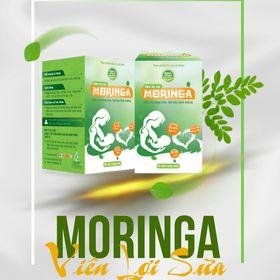 VIÊN LỢI SỮA MORINGA - Đặc Trị Ít Sữa, Mất Sữa - Tặng kèm Ngũ cốc 20 loại hạt 200gr giá sỉ