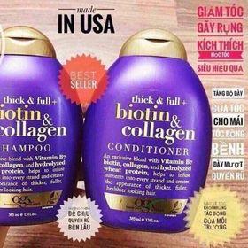 Dầu gội xả biotin kích thích mọc tóc giảm tóc gãy rụng giá sỉ