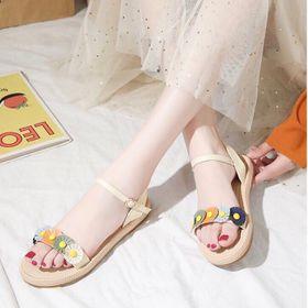 Giay sandal hoa giá sỉ