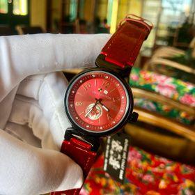 Đồng hồ nữ L.V mặt số đỏ cao cấp giá sỉ