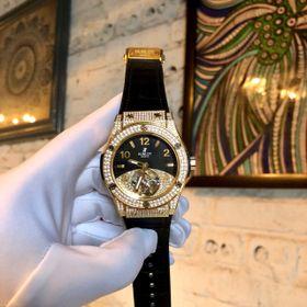 Đồng hồ nam HB vỏ vàng Full đá kim cương giá sỉ