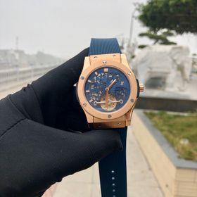 Đồng hồ nam HB vỏ vàng lộ cơ cao cấp giá sỉ