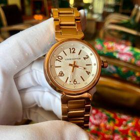 Đồng hồ L.V. Vỏ vàng mặt trắng cao cấp giá sỉ