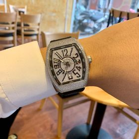 Đồng hồ Franck Muller Vanguard kim cương trắng giá sỉ