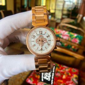 Đồng hồ L.V. vỏ vàng mặt số hoa đá giá sỉ