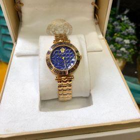 Đồng hồ nữ Versaces vỏ vàng mặt Xanh nước biển giá sỉ