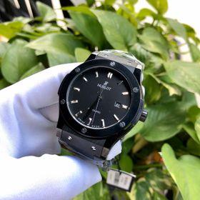 Đồng hồ nam HB Ceramic Đen Automatic cao cấp giá sỉ