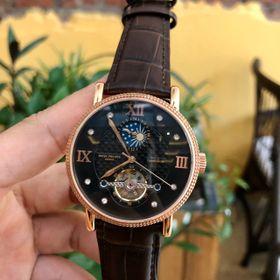 Đồng hồ nam Patek Philipe vỏ vàng mặt đen giá sỉ