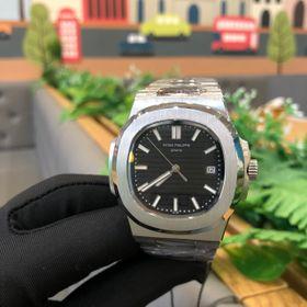 Đồng hồ Patek Philipe vỏ trắng mặt đen giá sỉ