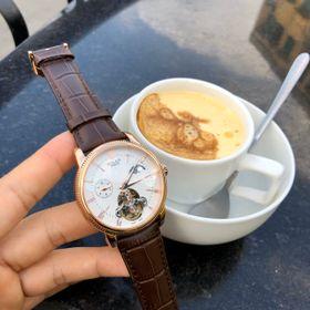 Đồng hồ nam Rolexx lộ cơ vỏ vàng mặt trắng giá sỉ