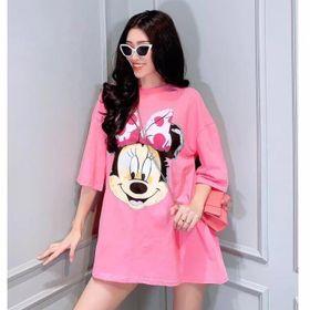 Áo thun form rộng chuột Mickey giá sỉ