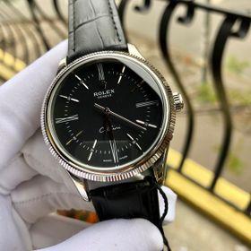 Đồng hồ Rolexx vỏ trắng mặt đen chải tia giá sỉ